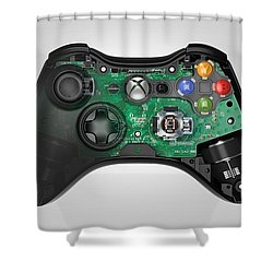 Xbox Controller 518 Shower Curtain