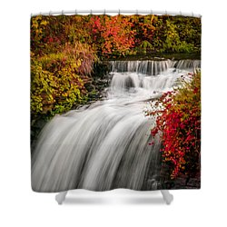 Fall At Minnehaha Falls Shower Curtain