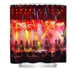 Xiangxi Night Show #1 Shower Curtain by Wade Aiken
