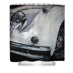Xk150 Jaguar Shower Curtain