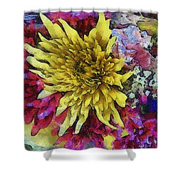 Xtreme Floral Thirteen Reaching Out Shower Curtain