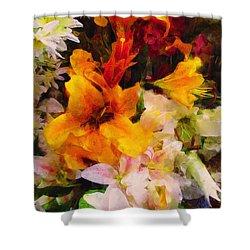Say Ahhhh Xtreme Floral Twenty Shower Curtain