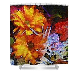 Xtreme Floral Two Shower Curtain
