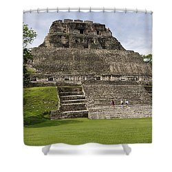 Xunantunich   Shower Curtain