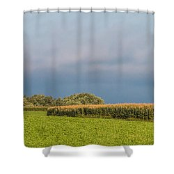 Farmer's Field Shower Curtain
