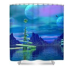 Xyxus Shower Curtain