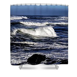 Yachats Bay Shower Curtain