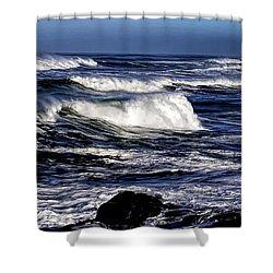 Yachats Bay Shower Curtain