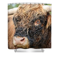 Yakity Yak Shower Curtain