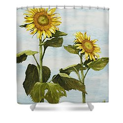 Yana's Sunflowers Shower Curtain