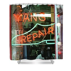 Yang Repair Shower Curtain
