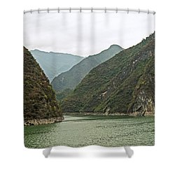 Yangtze Gorge Shower Curtain