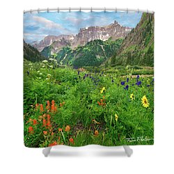 Yankee Boy Basin Shower Curtain