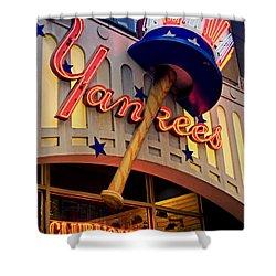 Yankee Clubhouse Shower Curtain by Joann Vitali