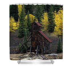 Yankee Girl Mine - 8764 Shower Curtain