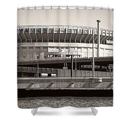 Yankee Stadium    1923  -  2008 Shower Curtain by Daniel Hagerman