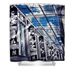 Yankee Immortals Iv Shower Curtain by Aurelio Zucco
