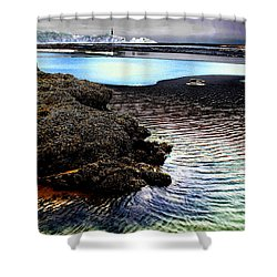 Yaquina Dream Shower Curtain by Mick Anderson