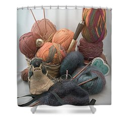 Yarn Shower Curtain