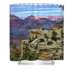 Yavapai Point Sunset Shower Curtain by Diana Mary Sharpton