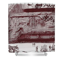 Yavin Temple Shower Curtain