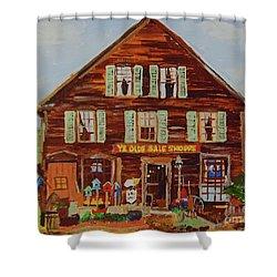 Ye Olde Sale Shoppe Shower Curtain
