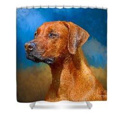 Year Of The Dog Shower Curtain