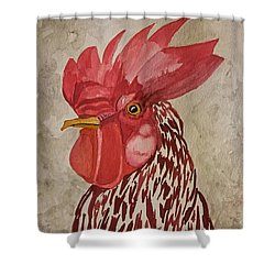 Year Of The Rooster 2017 Shower Curtain
