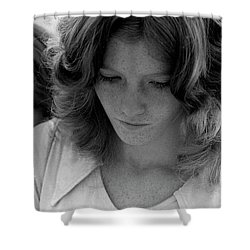 Yearbook Signing, 1972, Part 2 Shower Curtain