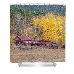 Yearning For The Tranquility Of A Rustic Milieu  Shower Curtain