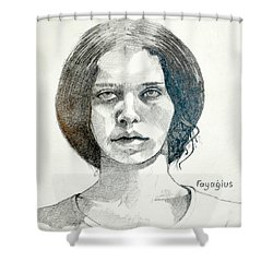 Yelena Shower Curtain