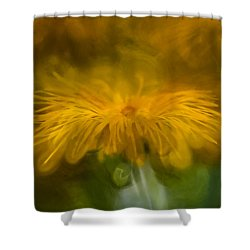 Shower Curtain featuring the photograph Yellow 3 by Leif Sohlman