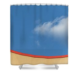 Yellow And Blue - Shower Curtain