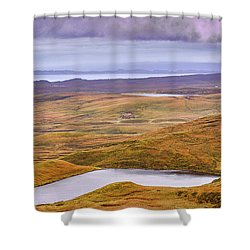 Shower Curtain featuring the photograph Yellow Autumn #g8 by Leif Sohlman