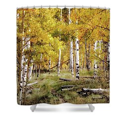 Yellow Bliss Shower Curtain