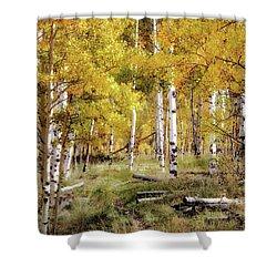 Yellow Bliss Shower Curtain