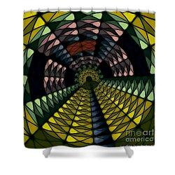 Yellow Brick Road Shower Curtain