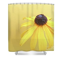 Shower Curtain featuring the photograph Yellow by Cindy Garber Iverson