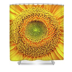 Yellow Eye Shower Curtain