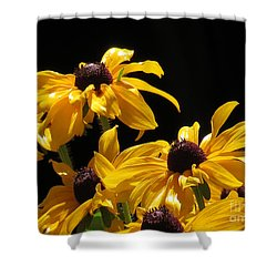 Yellow Flower 2 Shower Curtain