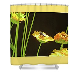 Visions Of Spring - Images From The Garden Shower Curtain