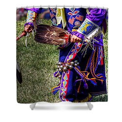 Yellow Moccasins Shower Curtain