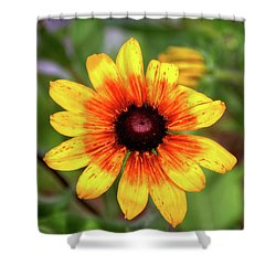 Yellow Tones Shower Curtain
