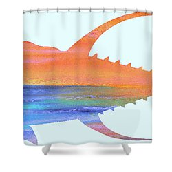 Yellowfin Sunset Beach Shower Curtain