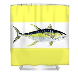 Yellowfin Tuna Shower Curtain