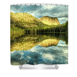 Yellowjacket Lake Shower Curtain