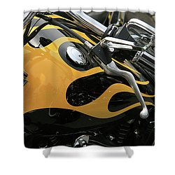 Yellowjacket Shower Curtain
