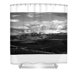 Yellowstone National Park Scenic Shower Curtain