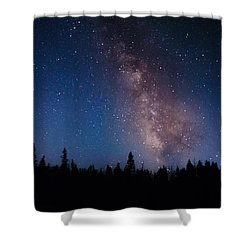 Yellowstone Stars Shower Curtain