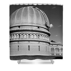 Shower Curtain featuring the photograph Yerkes Observatory  by Ricky L Jones